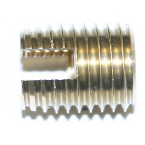 Insert à visser laiton M5 x 8 TARINSERT - quantité/sachet : 100