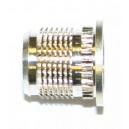 Insert à Collerette pose a chaud laiton M4 x 7,5 SERPLAST - quantité/sachet : 100