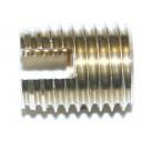 Insert à visser laiton M8 x 13 TARINSERT - quantité/sachet : 50