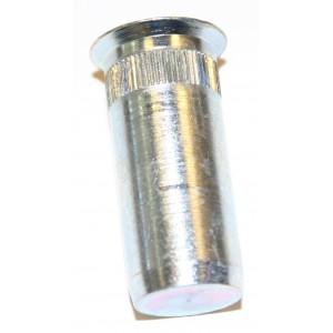 Écrou tête fraisée Borgne INOX à sertir en aveugle  M5 x 17 - quantité/sachet : 100