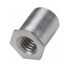 COLONNETTE OUVERTE INOX M3-H6mm pour des toles de 1mm mini par sachet de 50 pcs