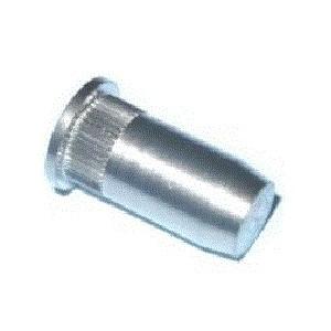 Écrou à sertir en aveugle inox BORGNE M8 x 25,3 SERBLOC - quantité/sachet : 100pcs