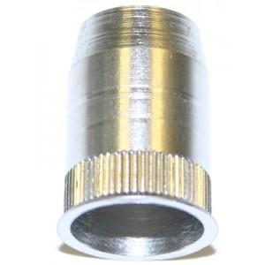 Écrou à sertir en aveugle acier zingué blanc M10 x 25 SERFIN - quantité/sachet : 100